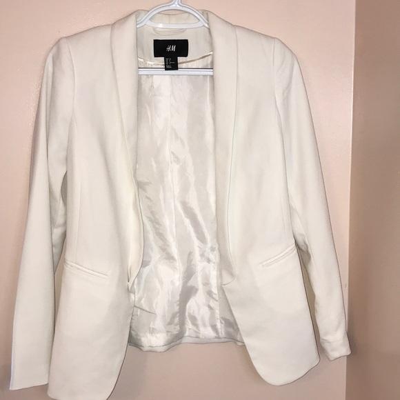 H&M Off White Blazer Size 2